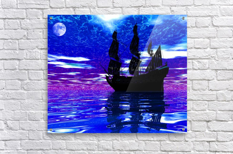 Moon Voyager  Acrylic Print