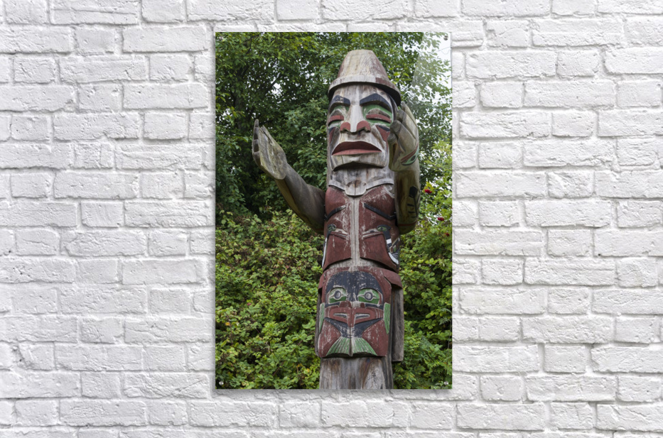 Totem pole of Granville Island 2  Acrylic Print
