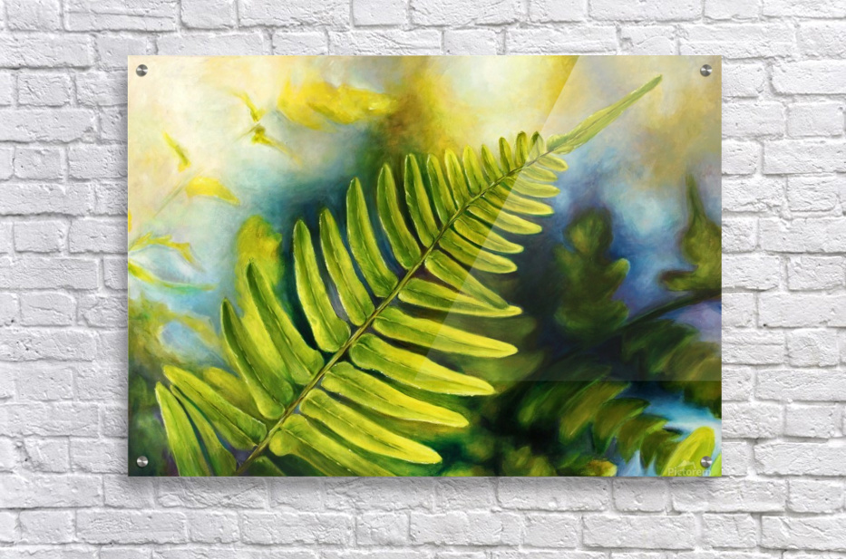 Fern Night  Acrylic Print