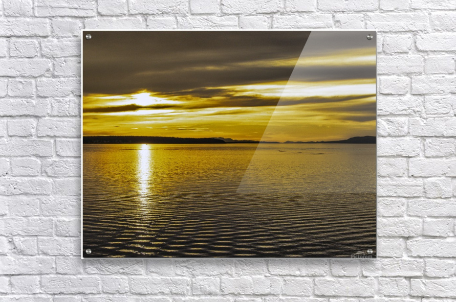 Powell River Sunset   Acrylic Print