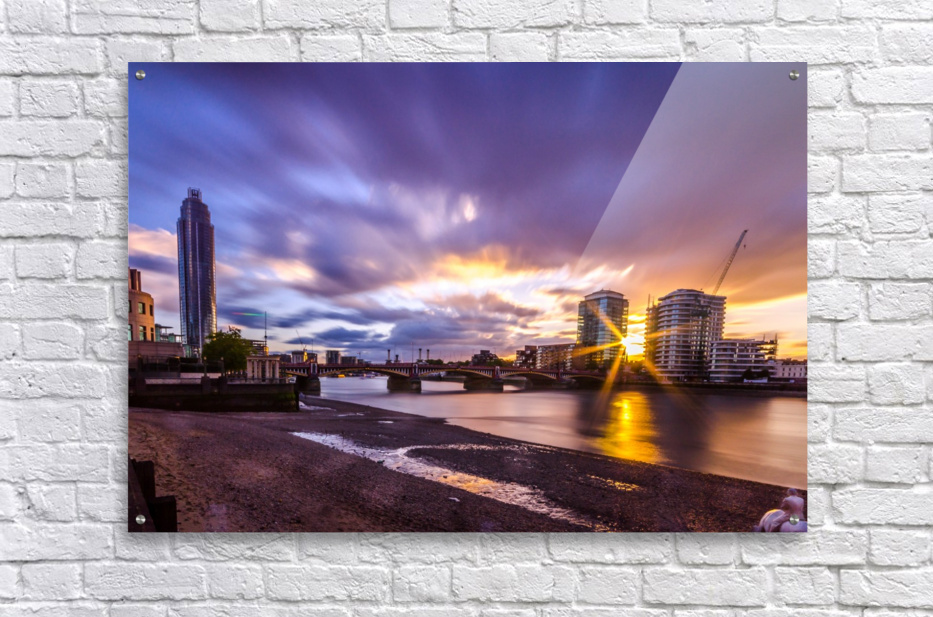Vauxhall London  Acrylic Print