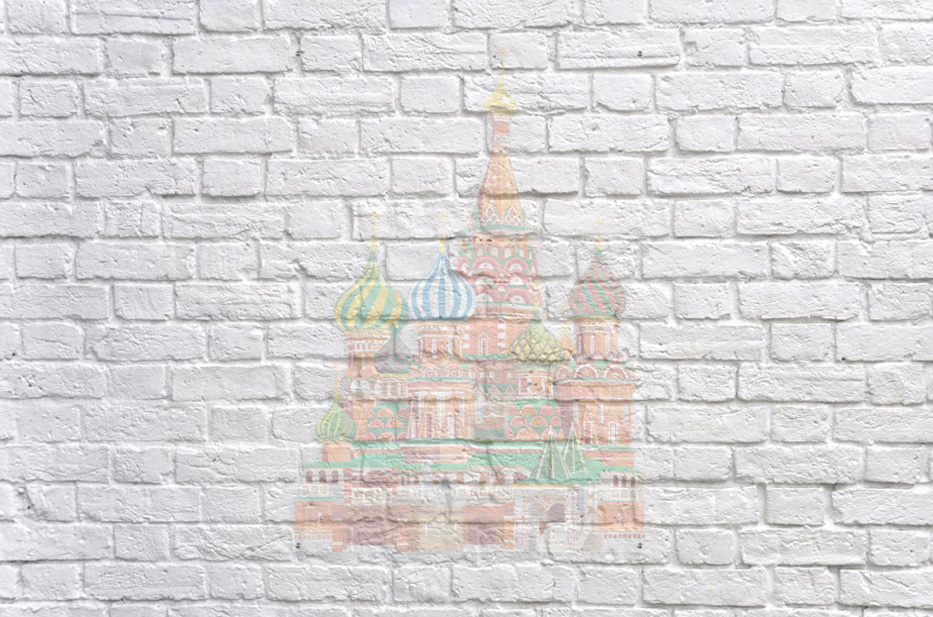 moscow kremlin saint basils cathedral red square l vector illustration moscow building  Acrylic Print