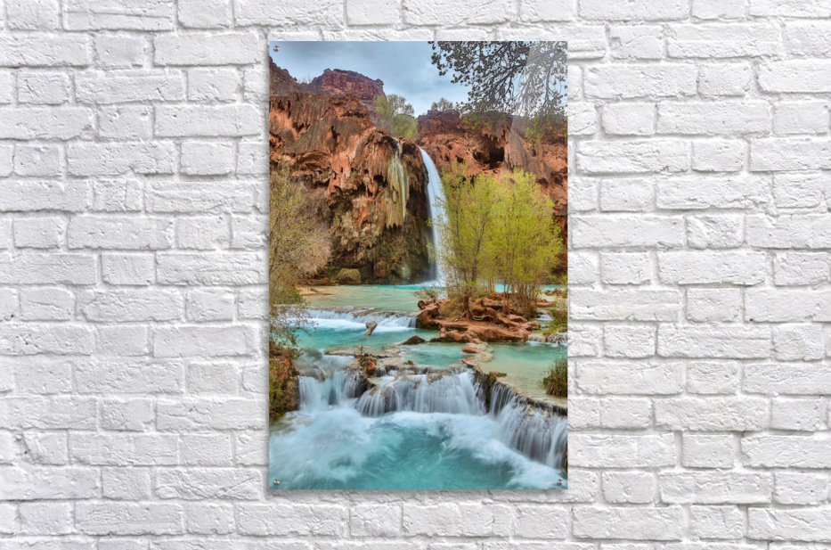 life is like a river  Acrylic Print