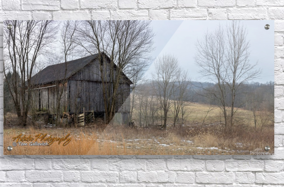Classic Barn - Artistic Photography - Canvas Artwork