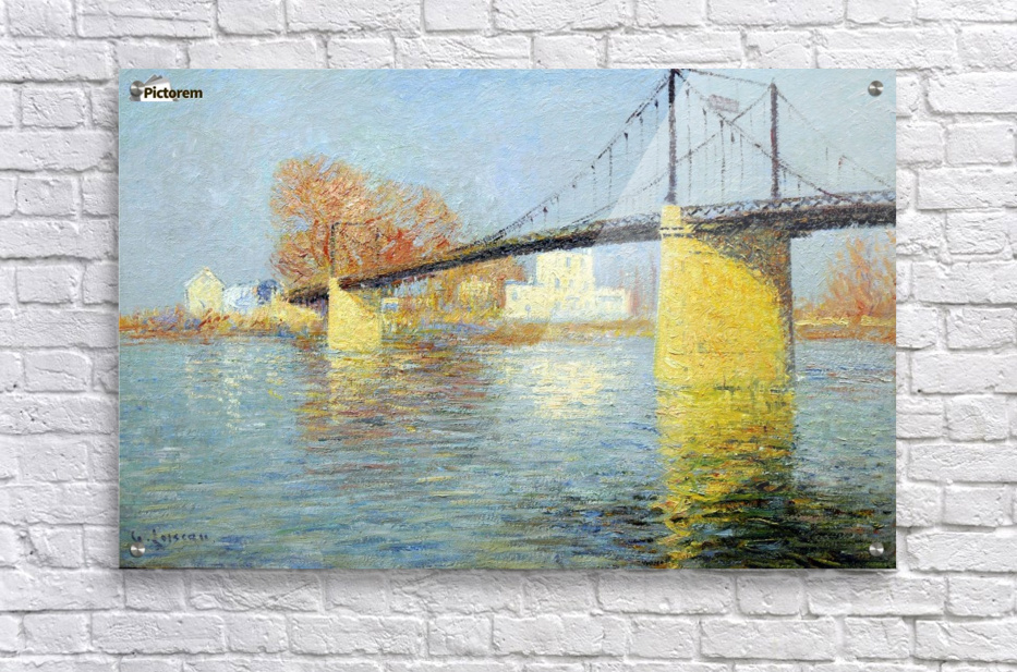 The Banks of the Seine, Triel  Impression acrylique