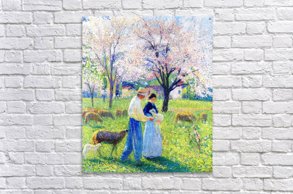 Lovers at Spring  Acrylic Print