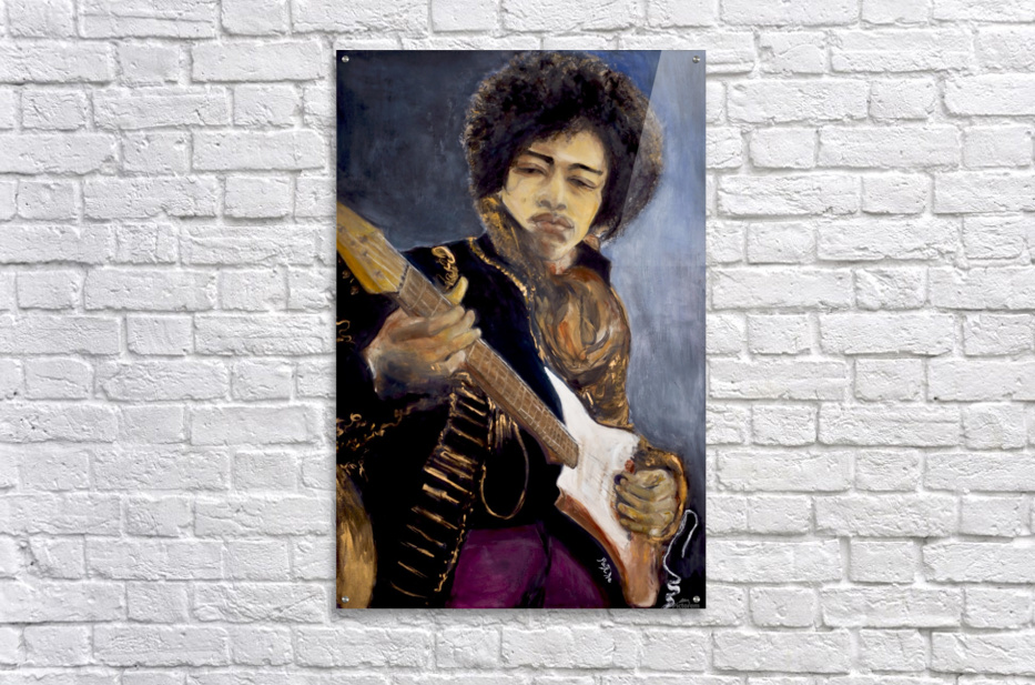 Jimi_High_Res  Acrylic Print