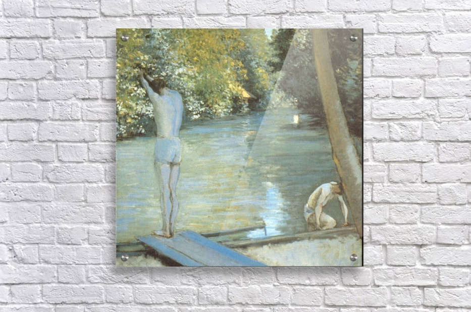 Bathers by Cailiebotte  Acrylic Print