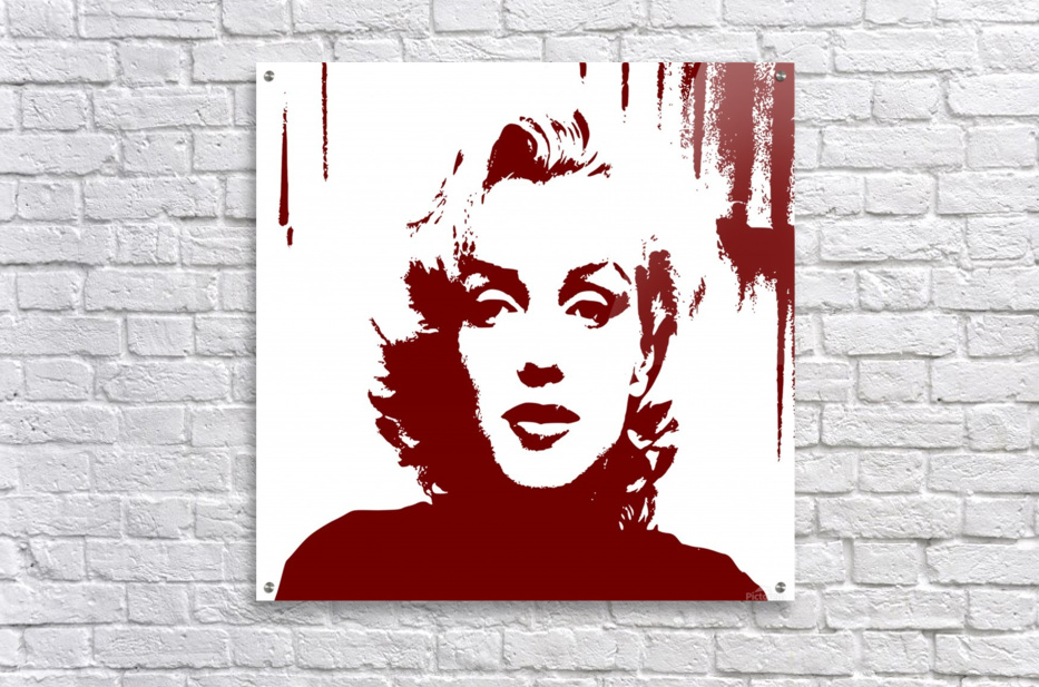 """marilyn monroe vintage model  photo art print poster for glass frame 36/"""" x 24/"""""""