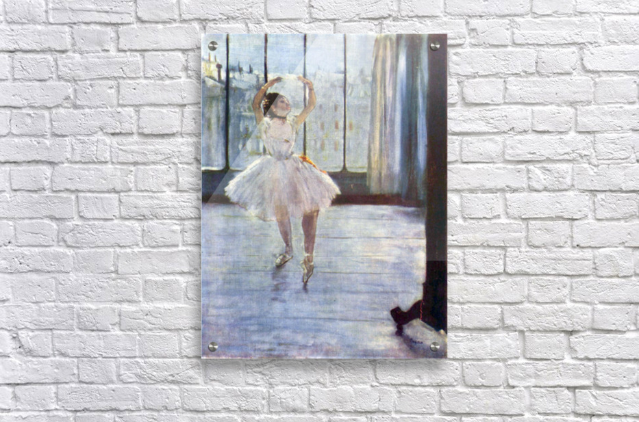 Dancer being photographed by Degas  Acrylic Print