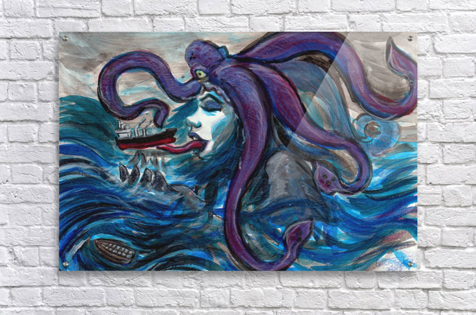 Sea Monster, 1  Acrylic Print
