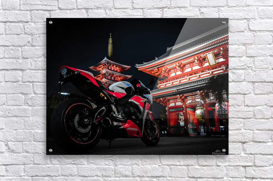 Honda At The Temple  Acrylic Print