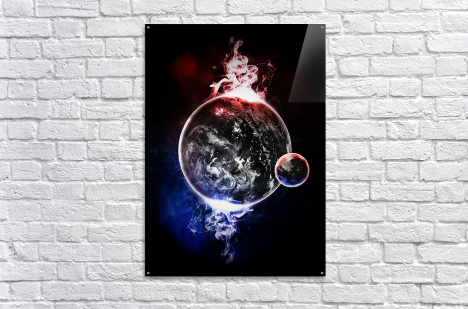Earth Atmospheric Vapors  Acrylic Print