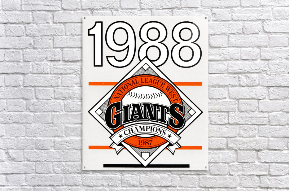 San Francisco Giants 1988  Acrylic Print