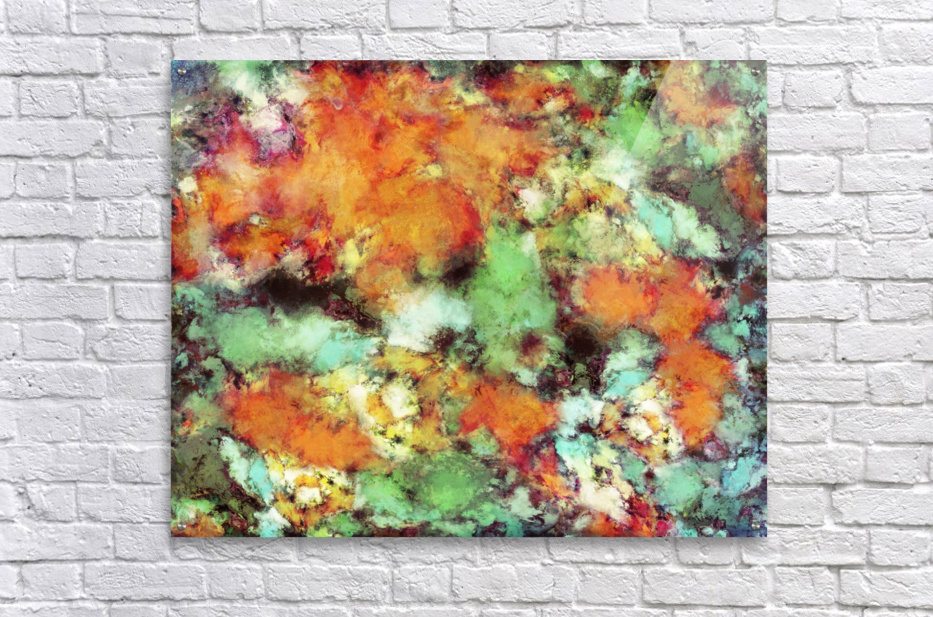 Big cloud collider  Acrylic Print