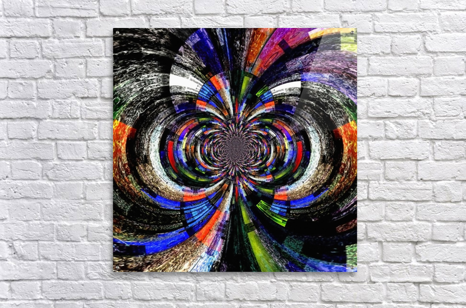 Abstract Fractal  Acrylic Print