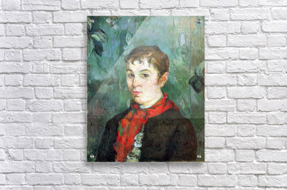 Landlord s Daughter by Gauguin  Acrylic Print