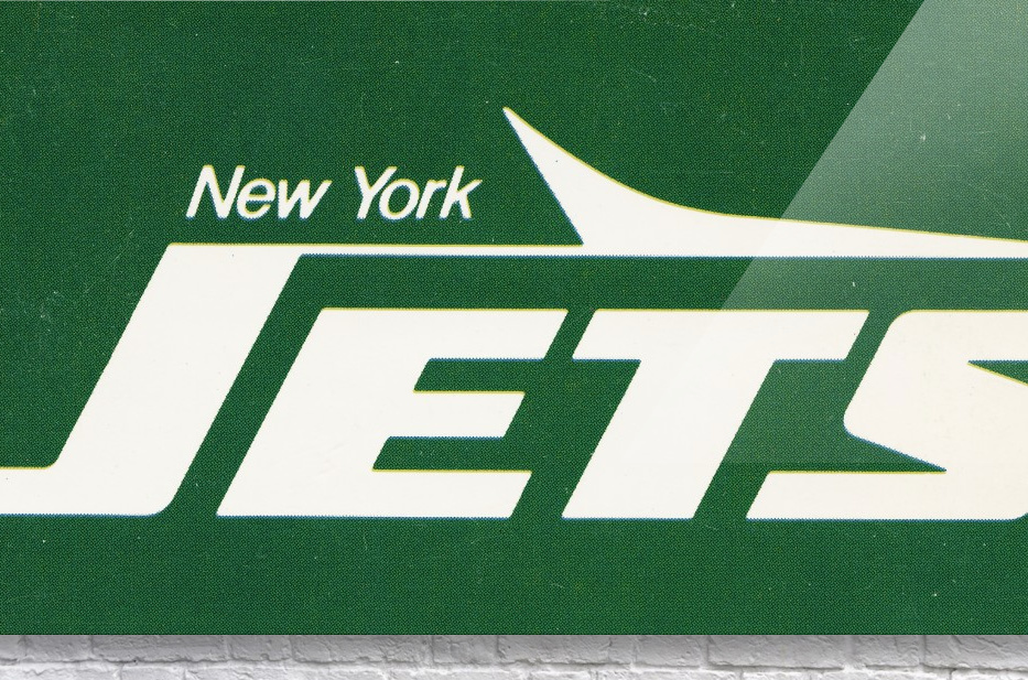 1981 new york jets reproduction artwork  Acrylic Print