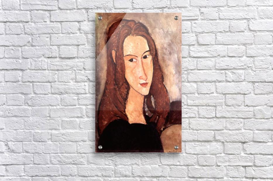 Jeanne Modigliani: Portrait Of Jeanne Hebuterne, Profile