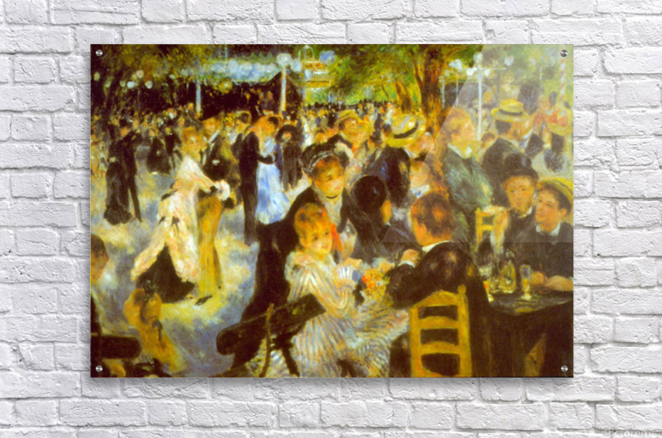 Moulin Galette by Renoir  Acrylic Print