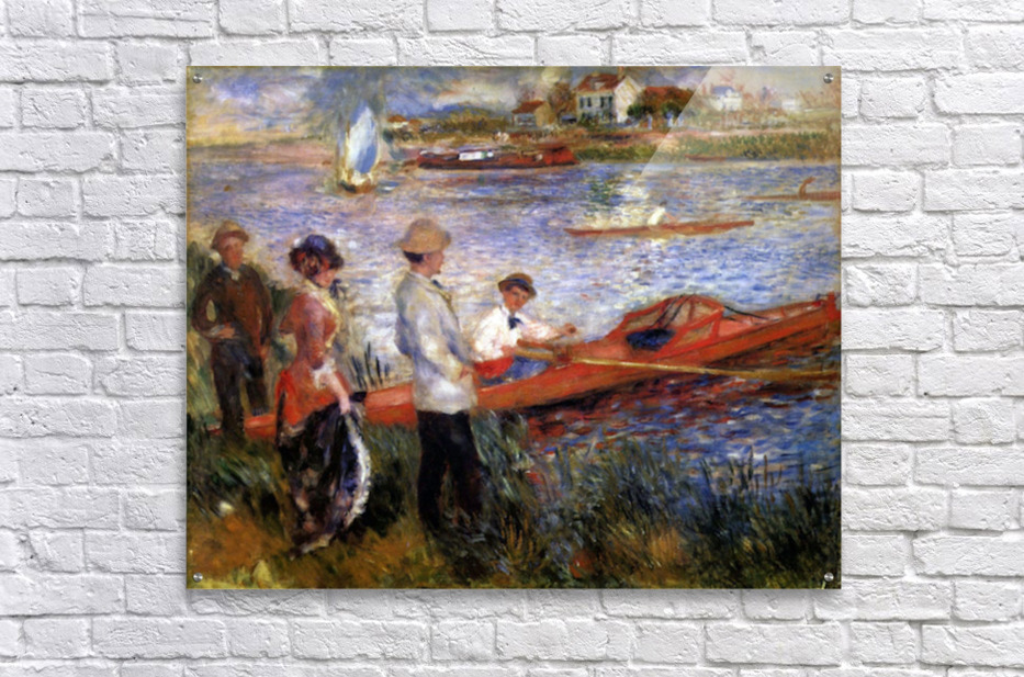 Rowers from Chatou by Renoir  Acrylic Print