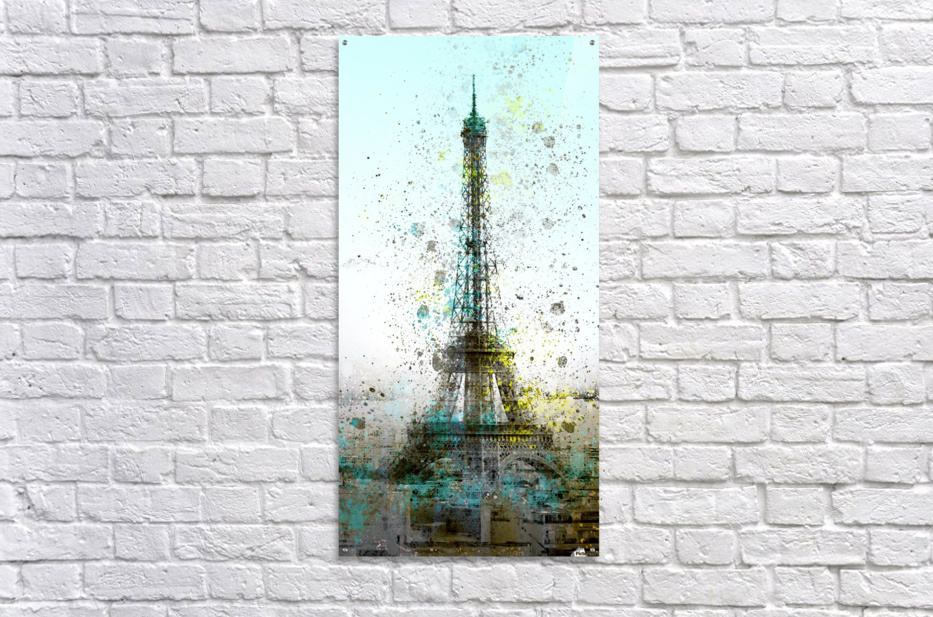 City-Art PARIS Eiffel Tower II  Acrylic Print