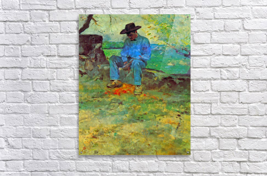 The Young Routy in Celeyran by Toulouse-Lautrec  Acrylic Print