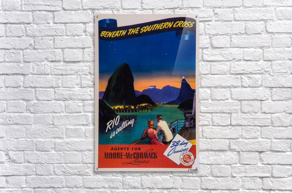 Rio is calling original poster  Acrylic Print