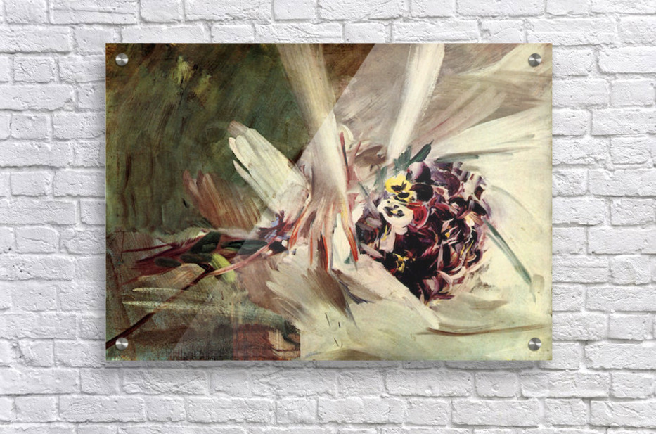 The Pansy by Giovanni Boldini  Acrylic Print