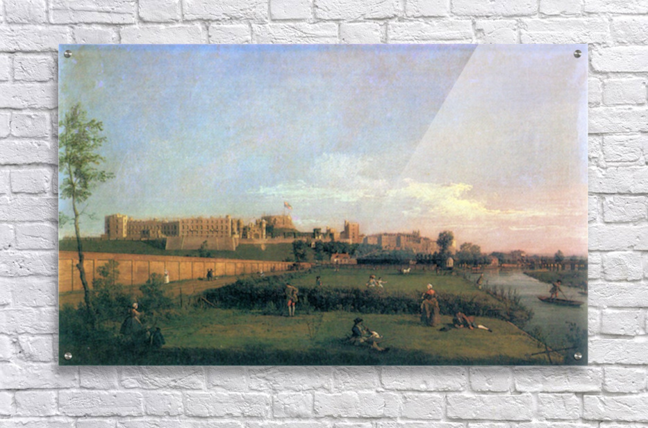 Windsor Castle by Canaletto  Acrylic Print
