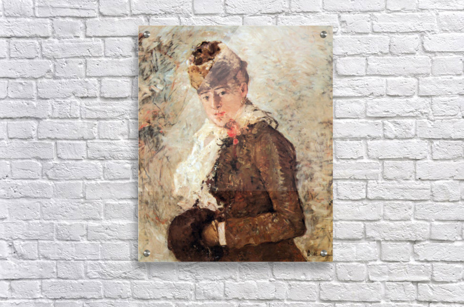 Winter (woman with Muff) by Morisot  Acrylic Print