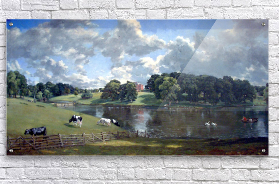 Wivenhoe Park by Constable  Acrylic Print
