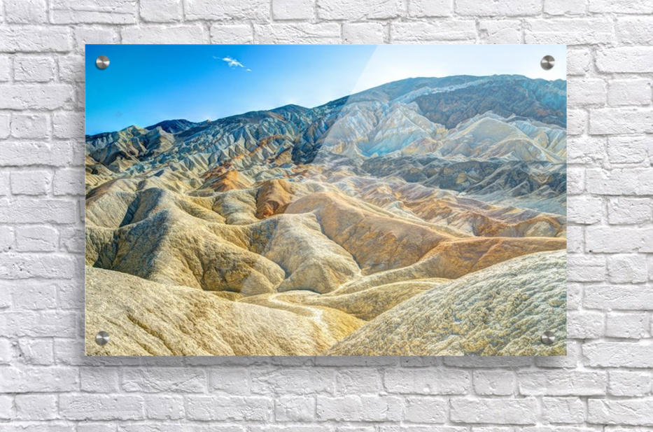 Death Valley Waves  Acrylic Print