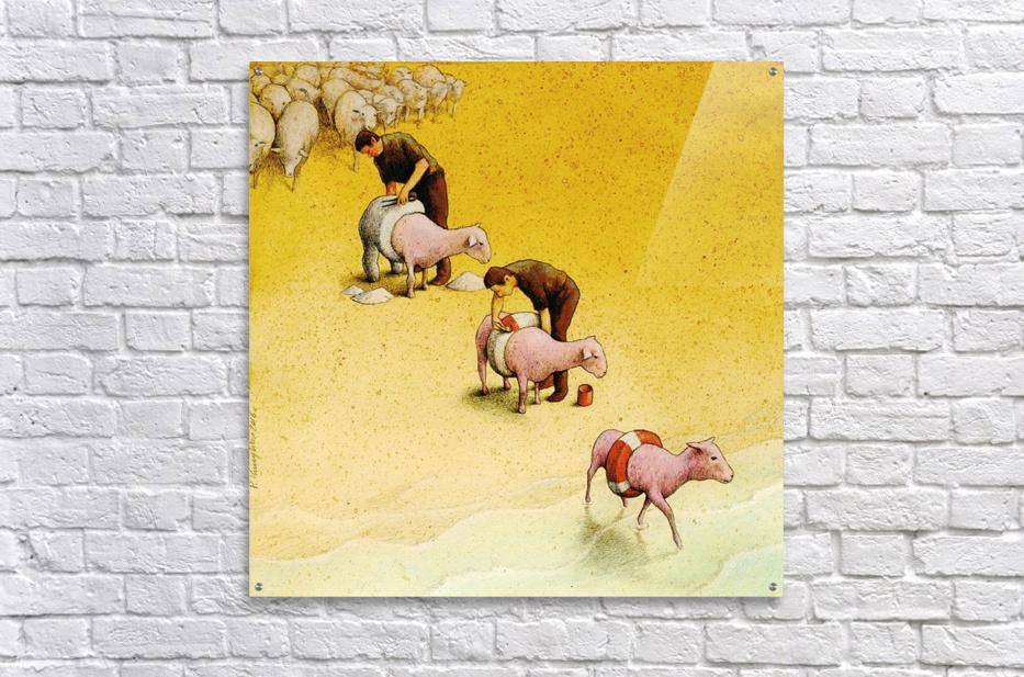 Sheep - Pawel Kuczynski Canvas