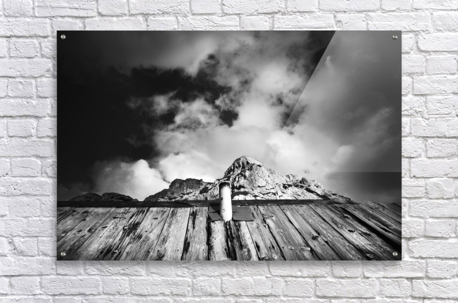 One with mountain  Acrylic Print
