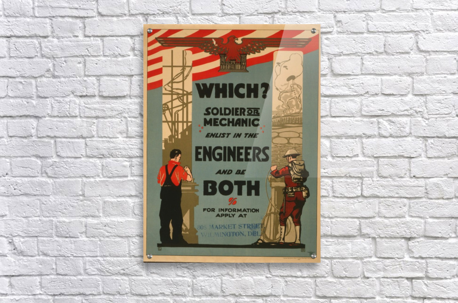 Engineers  Acrylic Print