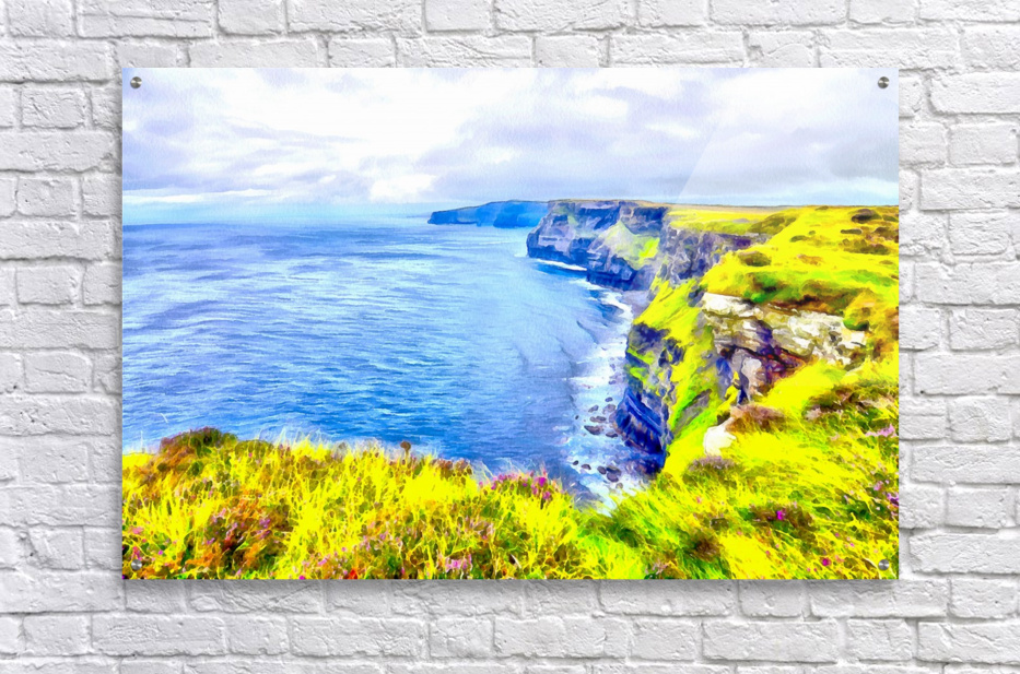CLIFFS OF MOHER 1 AZO  Acrylic Print