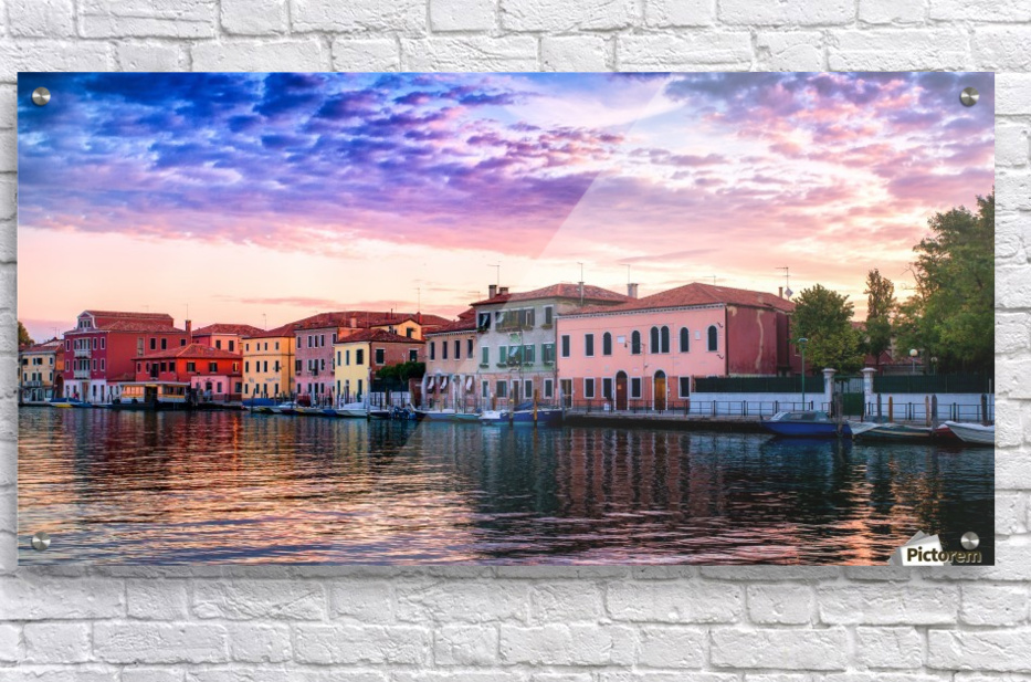 Murano Morning  Acrylic Print