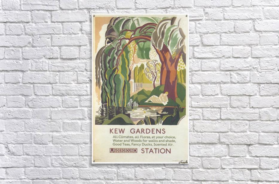 Acrylic Print. Acrylic Print London Underground Kew Gardens ...