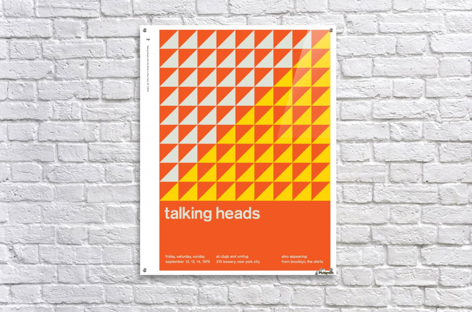 Talking heads  Acrylic Print