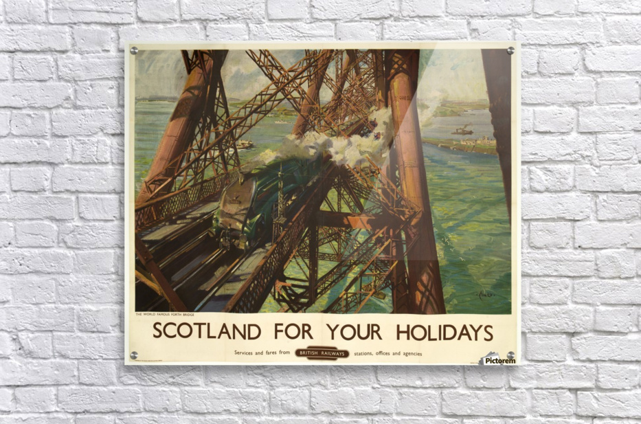 Scotland for your holidays  Acrylic Print