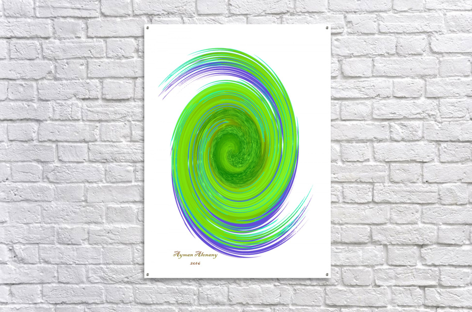 The whirl, W7.1A  Acrylic Print