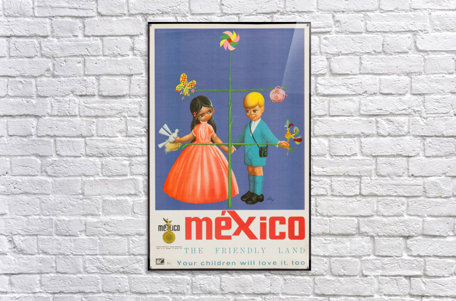 Mexico The friendly land  Acrylic Print