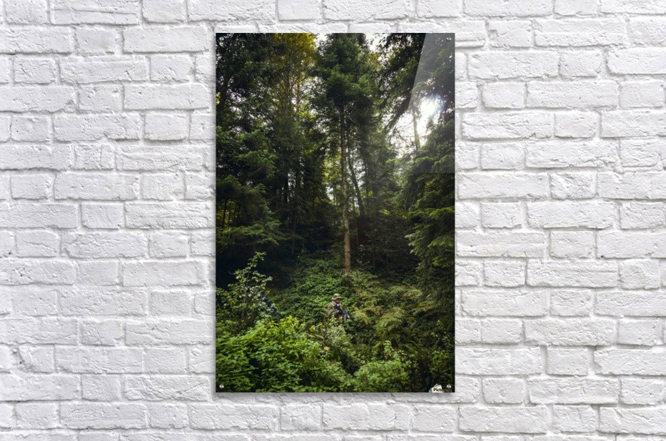 Forest warrior   Acrylic Print