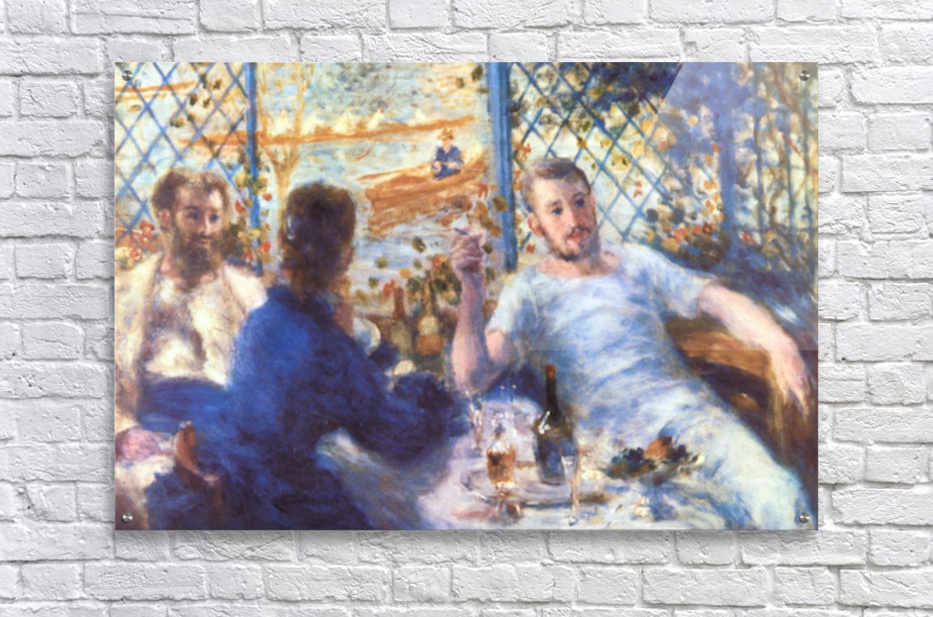 The Rowers Lunch by Renoir  Acrylic Print