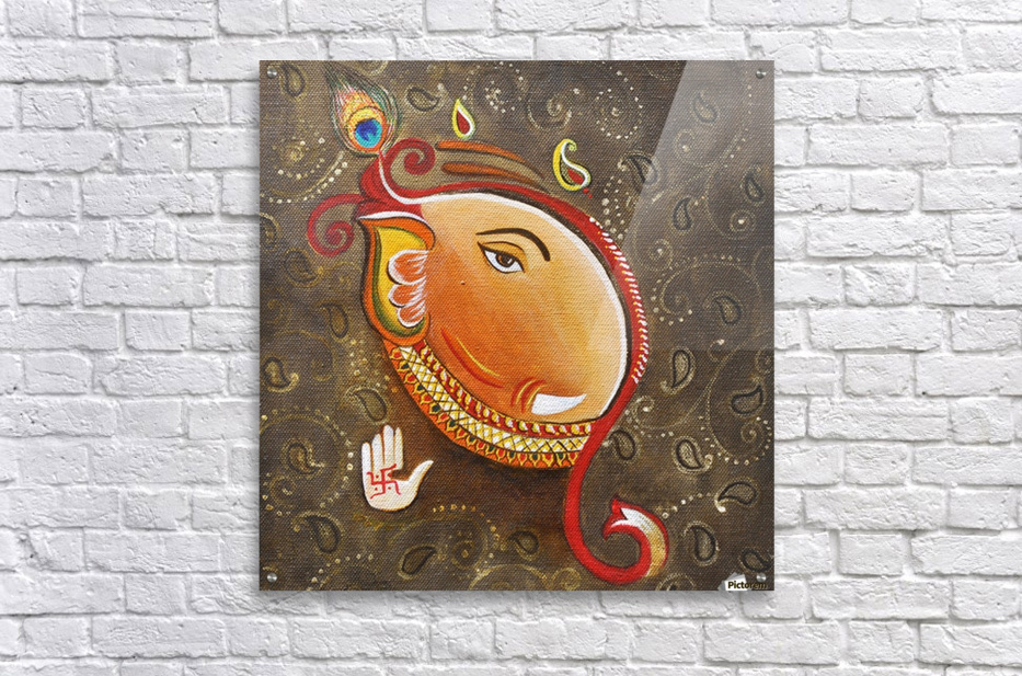 Ganesha the Great God  Acrylic Print