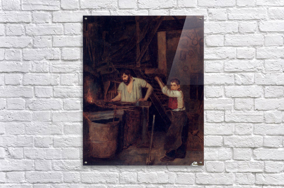 The blacksmiths  Acrylic Print
