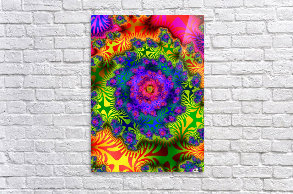 Vivid Abstract Image  Acrylic Print