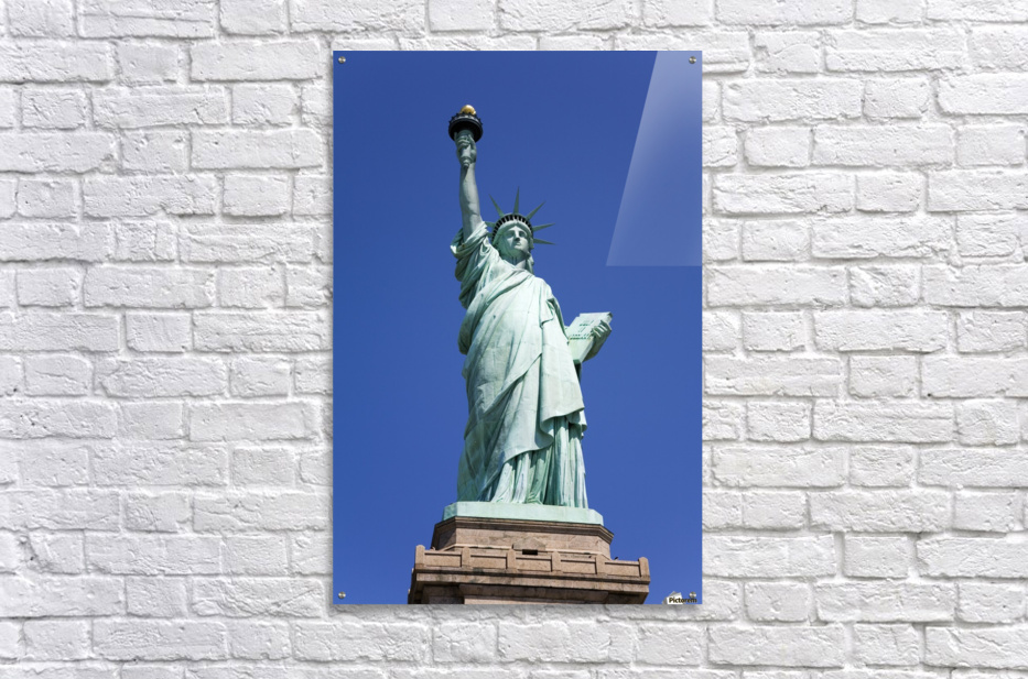 Statue Of Liberty, Lower Manhattan, New York City, New York, Usa  Acrylic Print