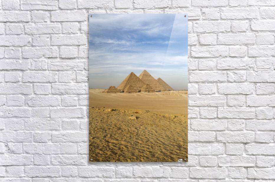 The Pyramids, Giza, Cairo, Egypt - PacificStock - Canvas Artwork